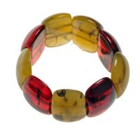 Jackie Brazil Oval Maria Bracelet in Tortoise Mix|Oxfordshire Jewellery Boutique
